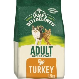 James Wellbeloved Cat Adult Food Turkey
