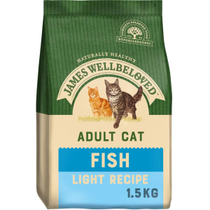 James Wellbeloved - Chat Adulte Light - Poisson & Riz