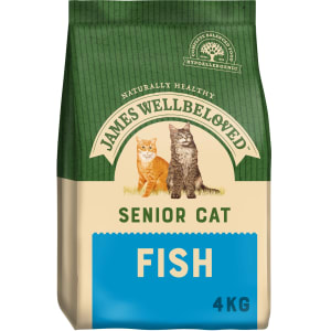 James Wellbeloved Chat Senior - Poisson & Riz