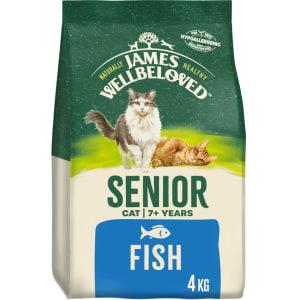 James Wellbeloved Senior Katzenfutter (Fisch und Reis)