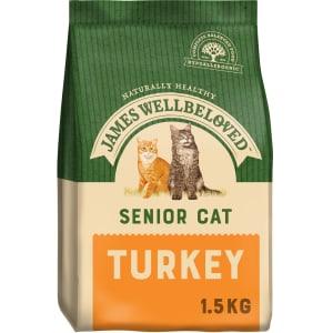 James Wellbeloved Complete Senior Dry Cat Food - Turkey