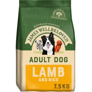 James Wellbeloved Medium Adult Dry Dog Food - Lamb & Rice