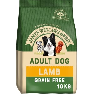James Wellbeloved Grain Free Adult Dry Dog Food - Lamb & Vegetable