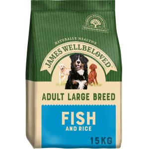 James Wellbeloved Adult Large Dog - Poisson & Riz