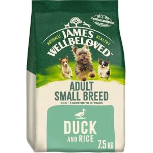 James Wellbeloved – Adult Small Breed (Ente und Reis)