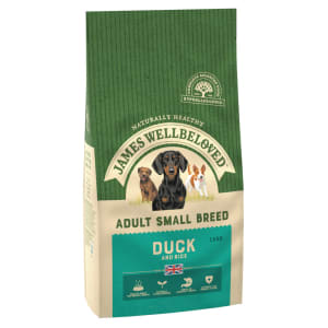 James Wellbeloved Small Adult Dry Dog Food - Duck & Rice