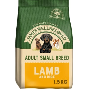 James Wellbeloved – Adult Small Breed (Lamm und Reis)