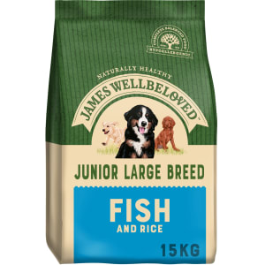 James Wellbeloved Dog Junior Large Breed Fish & Rice