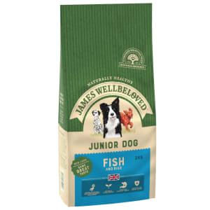 James Wellbeloved Junior Dry Dog Food - Fish & Rice