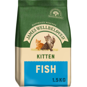 James Wellbeloved Kitten Food Fish