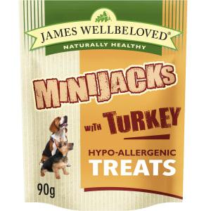 James Wellbeloved - Minijacks Dog Snacks - 90g