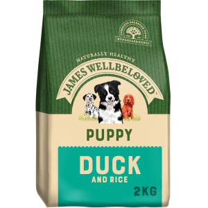 James Wellbeloved Puppy Duck & Rice