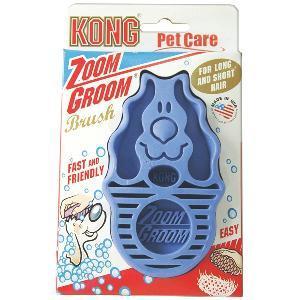 KONG ZoomGroom - Brosse douce et massante