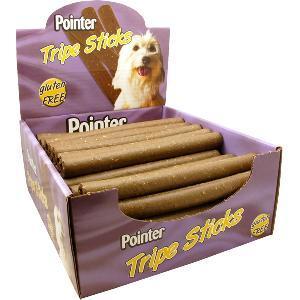 Pointer Dog Treat Sticks Bulk Box - 50 Pieces