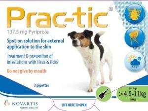Prac-tic Spot-On voor kleine honden