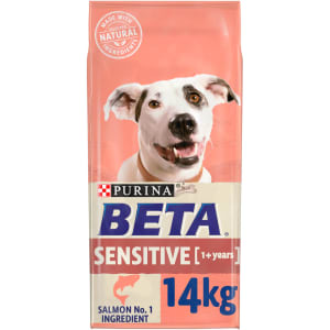 BETA Adult Sensitive Dry Dog Food with Salmon & Rice 14kg