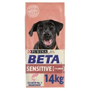 BETA Adult Sensitive Dry Dog Food with Salmon & Rice