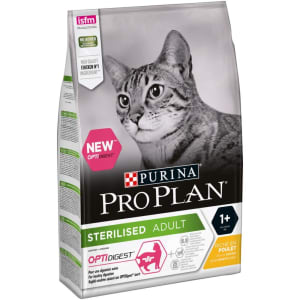PURINA PRO PLAN Sterilised Adult Cat Dry Food with Optidigest