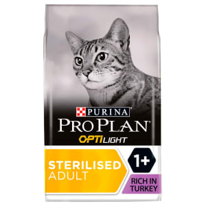PURINA PRO PLAN Light OPTIRENAL Rich in Turkey & Rice