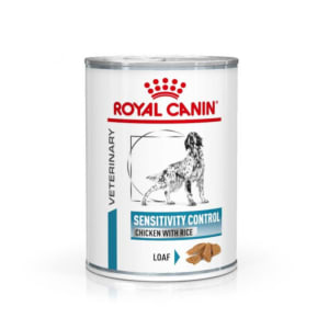 Royal Canin Sensitivity Control Adult Wet Dog Food - Chicken & Rice in Loaf