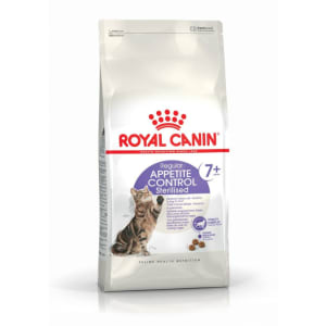 Royal Canin STERILISED 7+ Appetite Control für ältere kastrierte Katzen