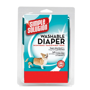 Simple Solution Diaper Garment Disposable Dog