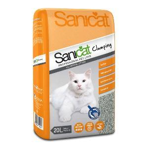 Sanicat klumpenbildende Katzenstreu