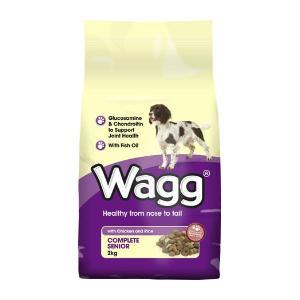 Wagg Complete Senior - Poulet & Riz