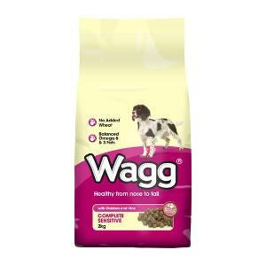Wagg Complete Sensitive - Poulet & Riz