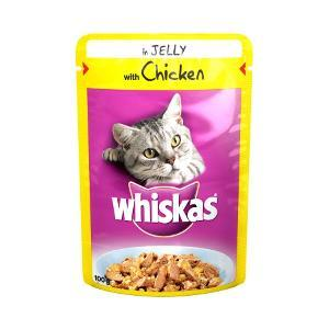 Whiskas Adult Cat Food Pouch 100G X 24 Bumper Pack