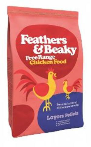 Alimentation pour Poules Feathers & Beaky