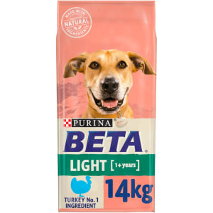 Purina Beta Light Adult 1+ Years Dry Dog Food - Turkey