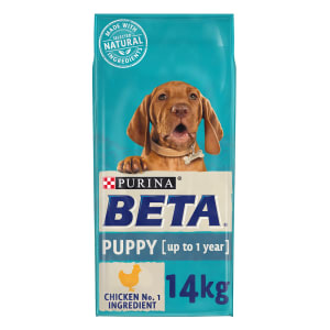 BETA Puppy Dry Dog Food with Chicken & Rice 14kg