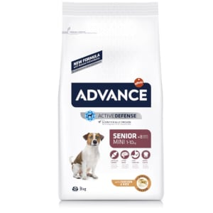 ADVANCE Mini Senior Hundefutter mit Huhn & Reis