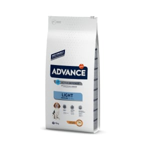 Advance Medium Light Hundefutter mit Huhn & Reis