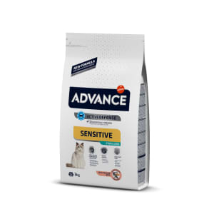 Advance Active Defence Adult Sensitive Sterilized Cat Food - Salmon & Barley