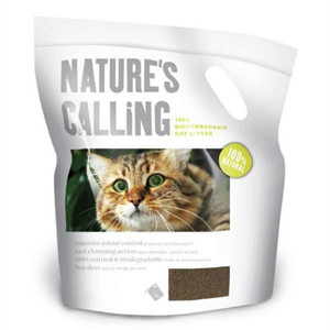 Nature's Calling Walnut Shell Fine Granule Cat Litter