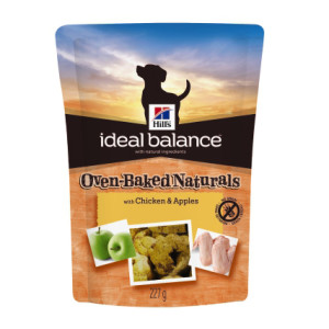 Hill's Ideal Balance Oven Baked Dog Treats Chicken & Apple