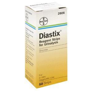Bandelettes réactives Diastix