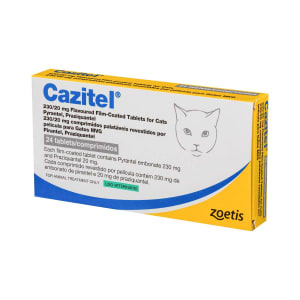 Cazitel Flavoured Tablets for Cats