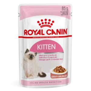 Royal Canin Kitten in Gravy Wet Food
