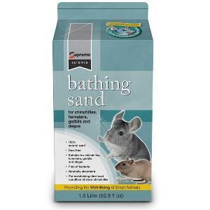 Sable nettoyant naturel Supreme Bathing pour rongeurs
