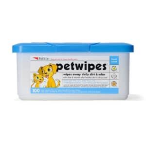 Petkin Feuchttücher für Hunde und Katzen