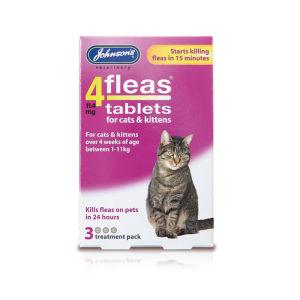 Johnsons 4Fleas Tablets Cats & Kittens
