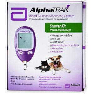 AlphaTrak 2 Starter Set – Blutzuckermessgerät für Tiere