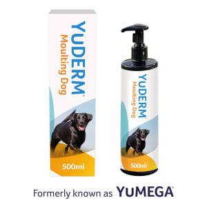 YuDERM Moulting Skin Supplement for Dog