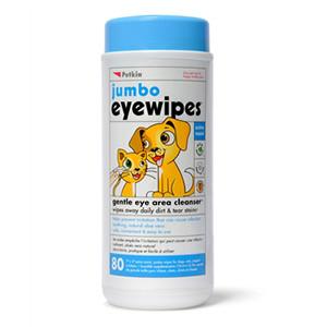 Petkin Jumbo Augentücher für Hunde und Katzen