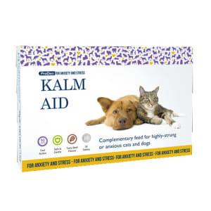 KalmAid Tabletten bij nerveuze en angstige honden en katten
