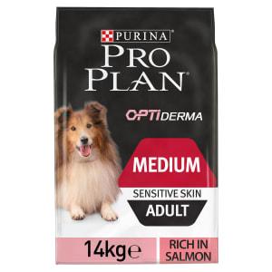 PURINA PRO PLAN Middelgrote volwassen hond Sensitive Skin
