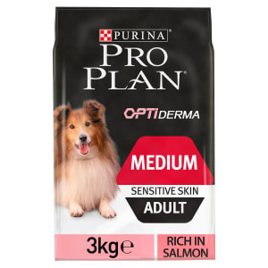 Purina Pro Plan Medium Adult Dog Sensitive Skin Salmon